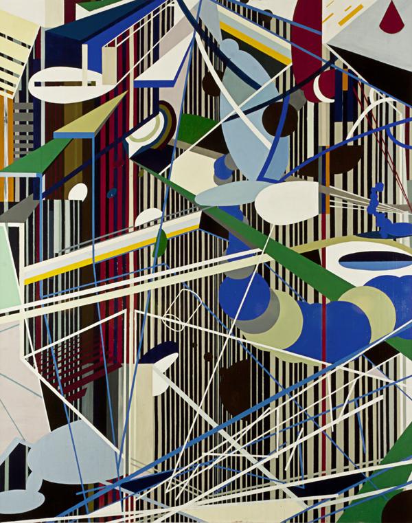 S/T. Acrílico sobre tela. 190 x 150 cm. 2012.