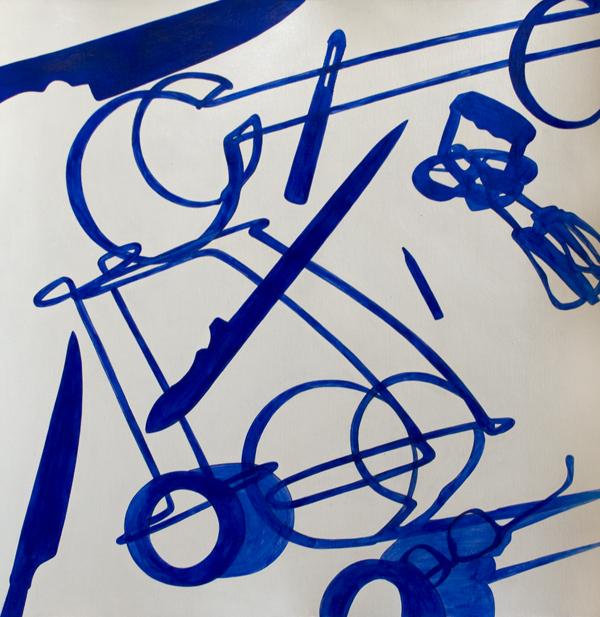 S/T. Acrílico sobre papel. 48 x 58 cm. 2012.
