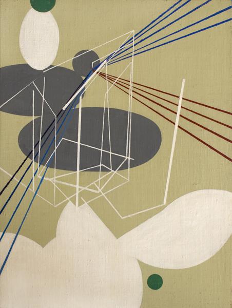 S/T. Acrílico sobre tela. 30x 40 cm. 2012.